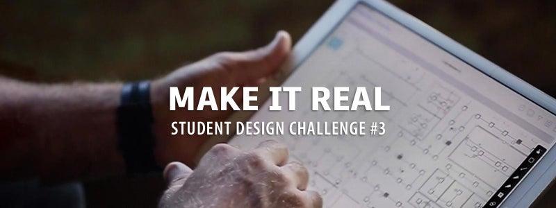 使它真正的学生设计挑战#3