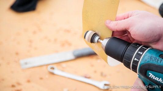 Finish Sanding With Fine Sandpaper