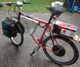 通勤者的电动自行车