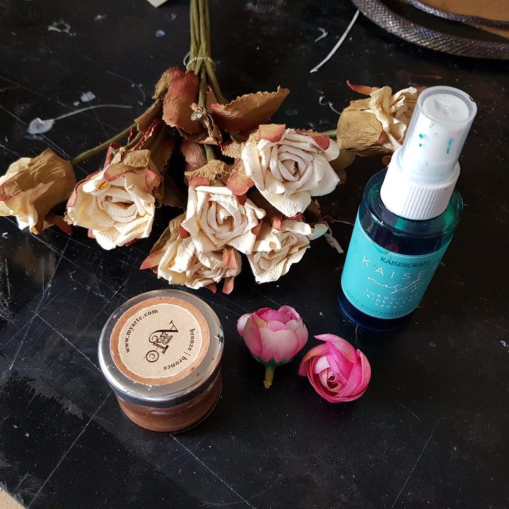 Add Artificial Flowers