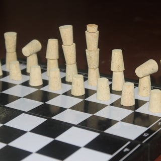 Make a Chess Set Out of Corks