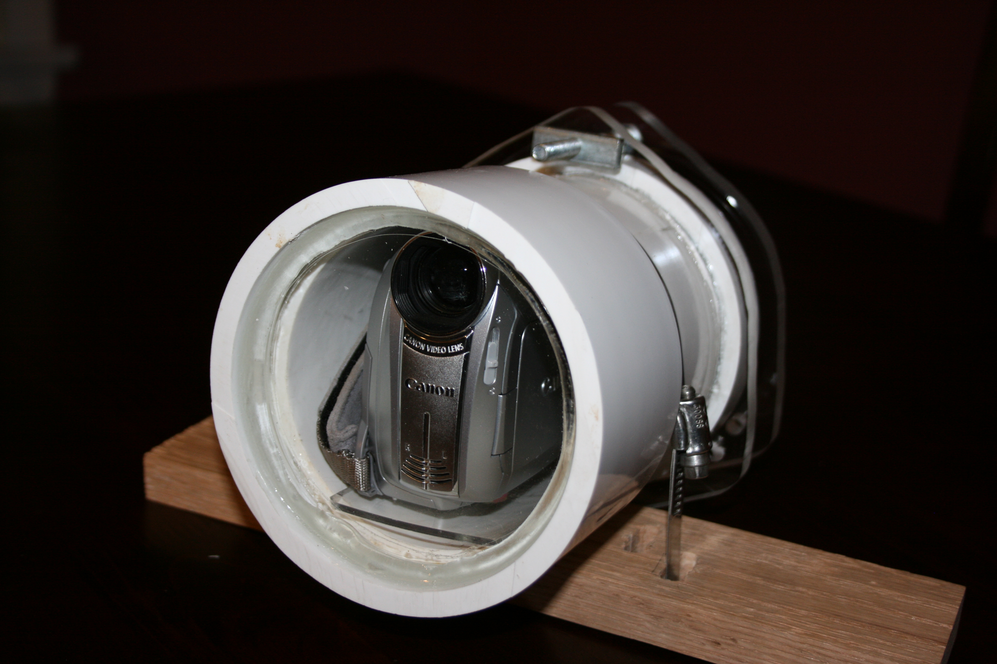 Underwater Camera Housing for small video camera