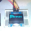 Arduino OLED 128X64 IIC Serial Display: Printing Text and Moving Images