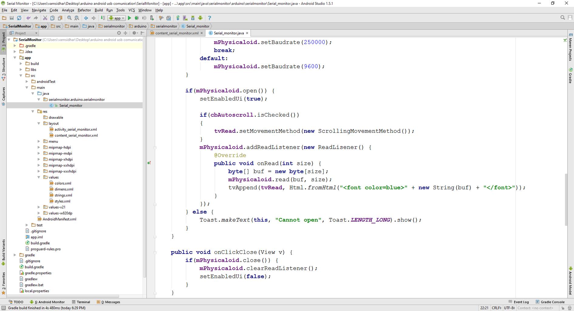 Adding Code to UI Elements