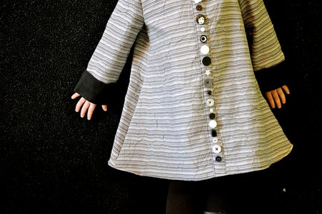 Easy Faux Placket--The Fun of Buttons Without the Headache of Buttonholes!
