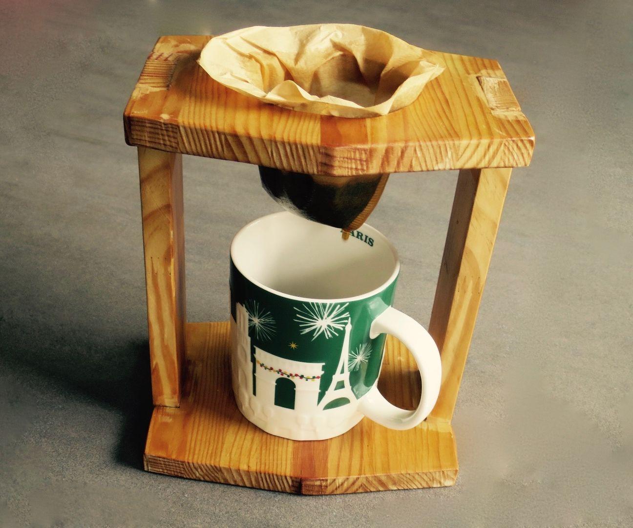 Wood Coffee Maker