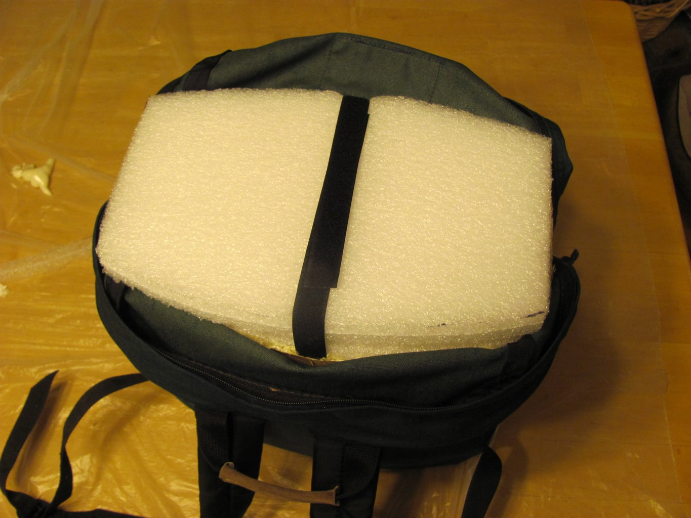 Glue the 2 Pieces of HDPE Foam Together to Make the Cooler Lid