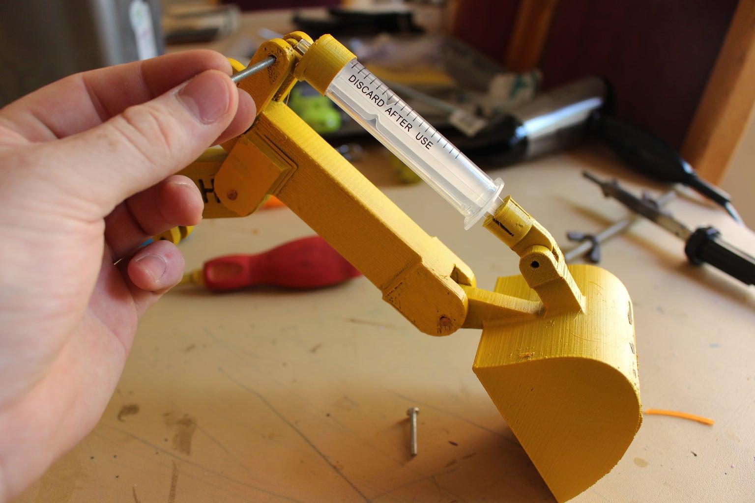 Arming the Excavator