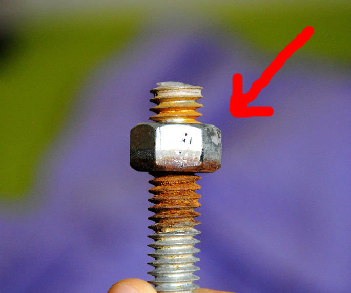 How to Unscrew a Nut that's Stuck on a Bolt (without ruining threads)