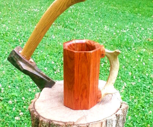 How to Make a Mug out of Scrap Hard Wood Flooring