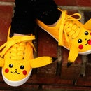 DIY Pikachu Shoes
