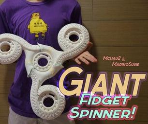 Giant Fidget Spinner! (3D Printed)