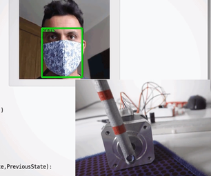 Mask Detection on Raspberry Pi With Stepper Motor Access Control