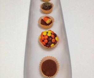 Chocolate Truffles for Halloween