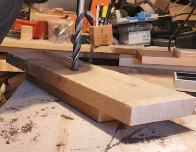 Cutting It to Length and Making a Relief Hole