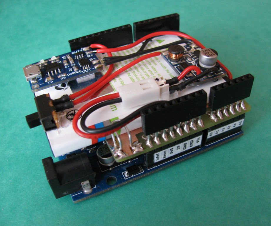 Arduino Battery Shield