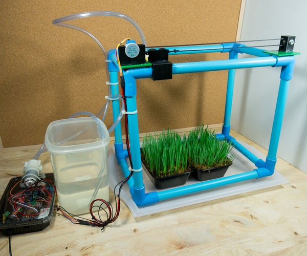 IoT Automatic Plant Watering System