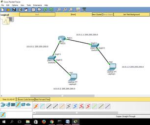 如何在思科数据包示踪器中为设备提供静态IP