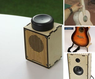 Laser Cutting for Music Makers
