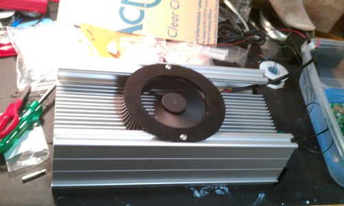 Finishing the Heat Sink With Fan, Splash Guard and Other Attachments