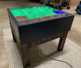 DIY Electronic Coffee Table