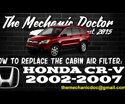 How to Replace the Cabin Air Filter : Honda CR-V 2002-2007.