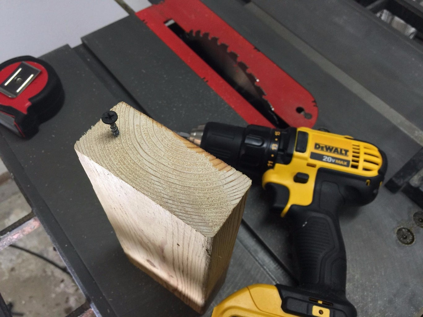 Measure the Blade to Table Alignment