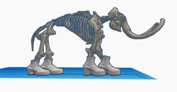 Mammoth's Feet Get Cold (sily Solutions)