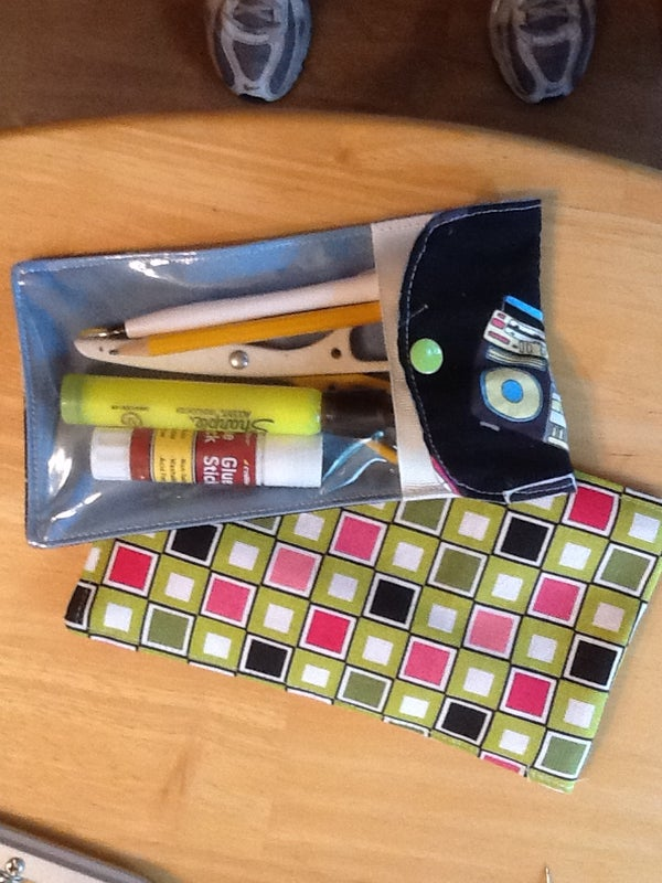 See Inside Pencil Case