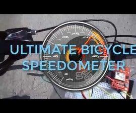 Arduino Bicycle Speedometer Using GPS