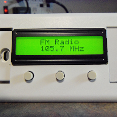 FM Radio With Si4703, Arduino Pro Mini and 3.3V Large LCD
