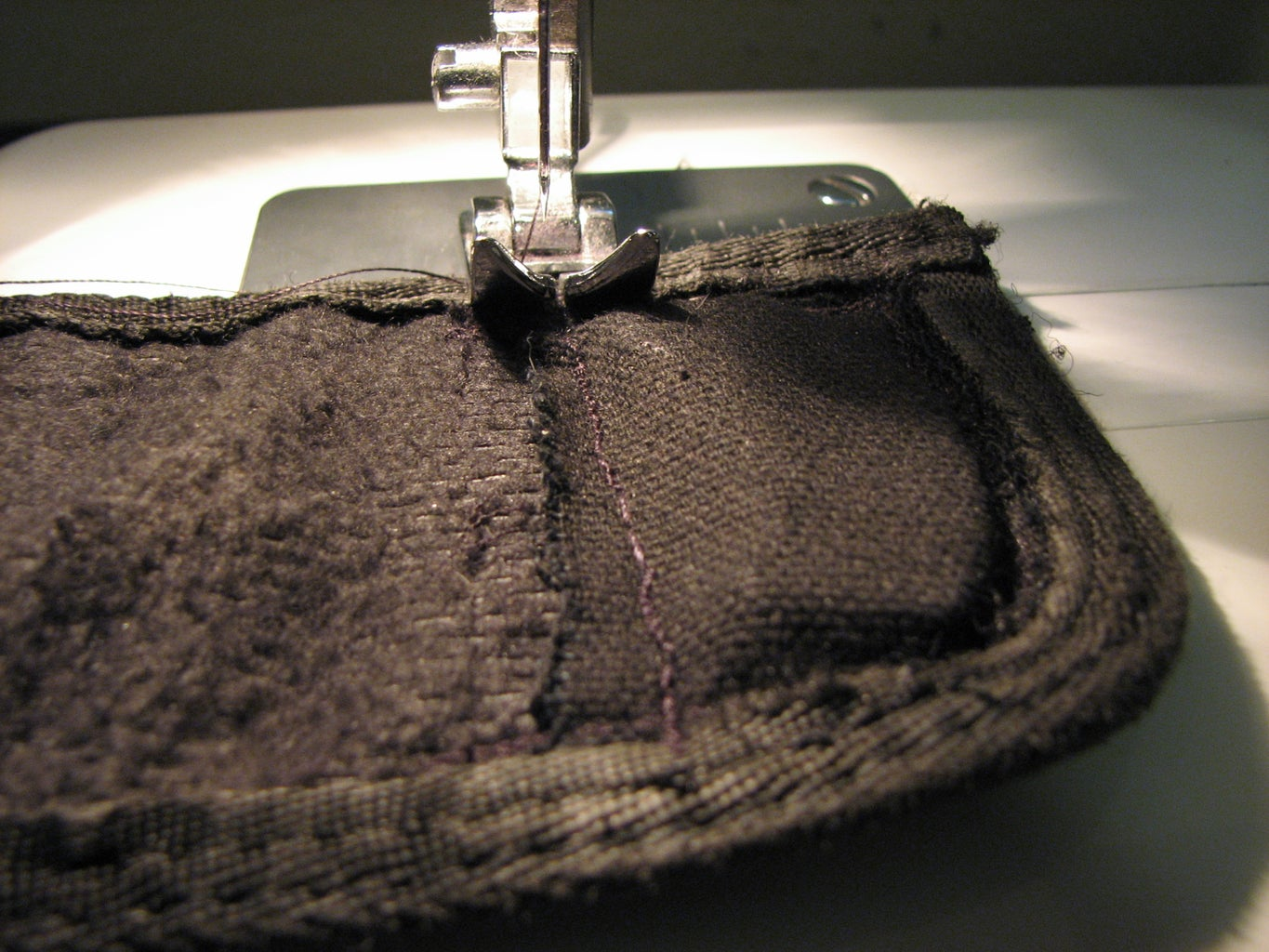 Insert Magnet(s) and Sew Close
