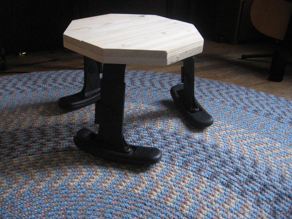 How to Build an Arm-Stool