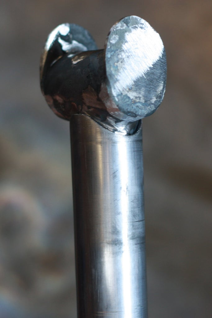 Assemble and Weld the Topper for the Central Shaft