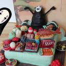 Spirited Away Cake: No Face's Feast