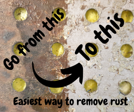 Get Rid of Rust Completely and Easily in 5 Min