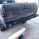 Custom Off Road Rear Bumper With Hitch