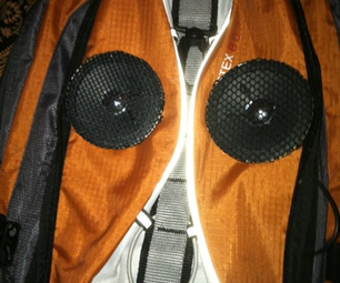 MP3 Backpack Speakers