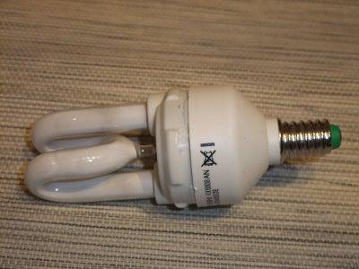 Prepare the Engery Saving Lamp