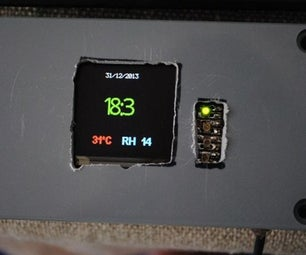 Temp, Humid and Time + Date on OLED Display