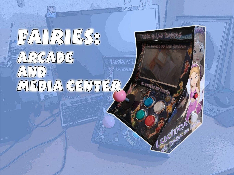Fairies: Portable Arcade and Media Center
