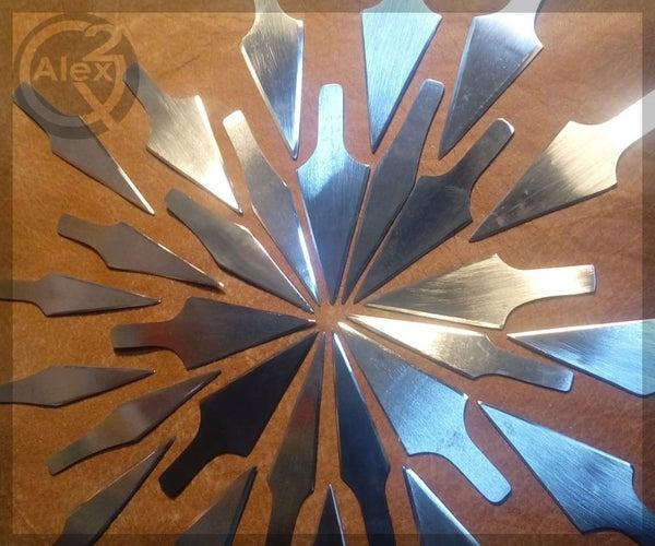 How to Make a Batch of DIY Arrowheads