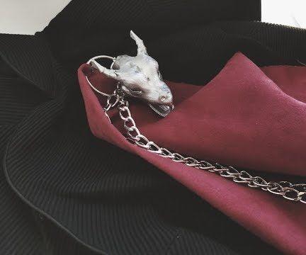 Game of Thrones- Daenery's Season 7 Dragon Head Inspired Dragon Chain