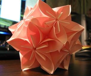 Flower Origami Ball
