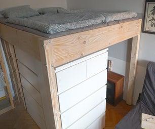 DIY LOFT床