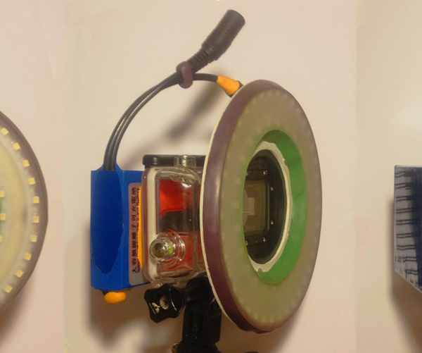 GoPro: Clip on Ring Light