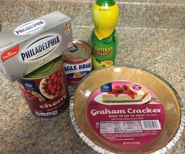 How to Make a Cherry Cheese Pie