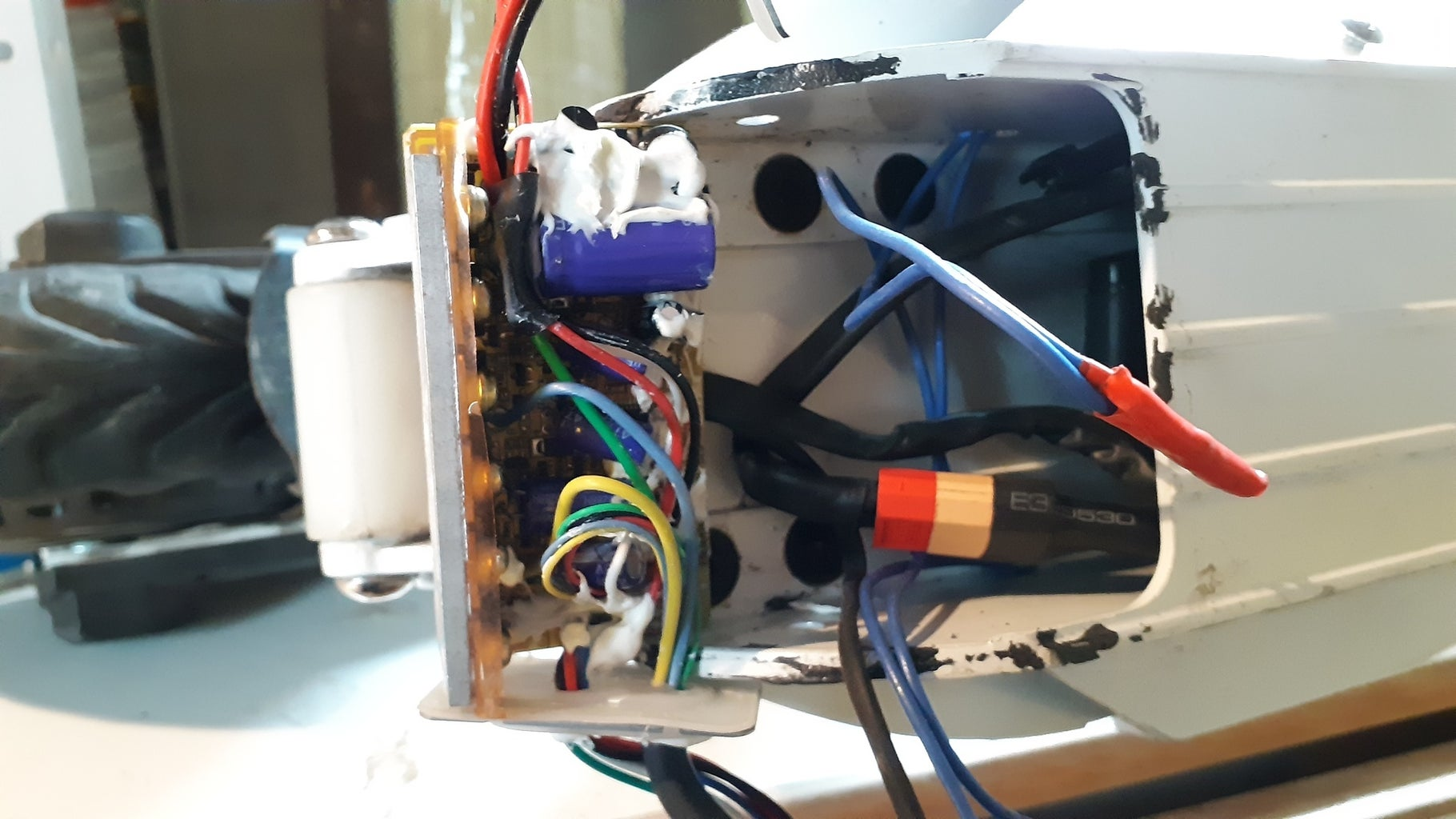 Search Place for Rear Motor Controller