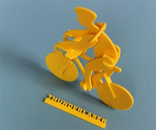 Laser Acrylic Cutting – Bicycle Model