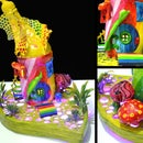 Rainbow Fairy House Lamp
